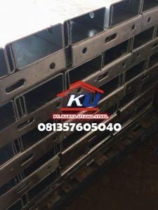 Harga Guardrail Jalan Per Meter Murah Tebal Post 4,5mm Galvanis