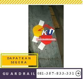 Harga Guardrail Jalan Per Meter Murah Galvanis Hotdeep Aman Anti Karat