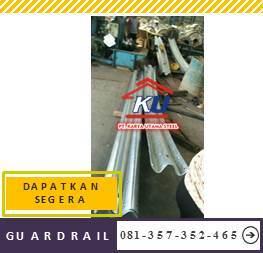 Harga Guardrail Murah SNI Tebal Post 4,5 mm Untuk Jalan Raya