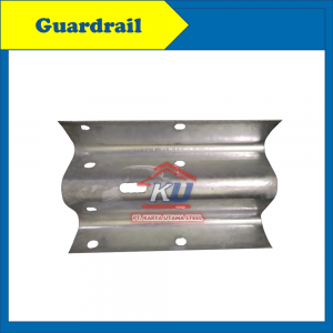 Supplier Guardrail Surabaya - Hot Dip Galvanis Panjang Efektif 4m