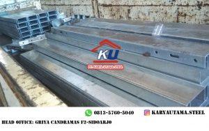Harga Guardrail Permeter Murah Galvanis Hotdeep Panjang 4 Meter